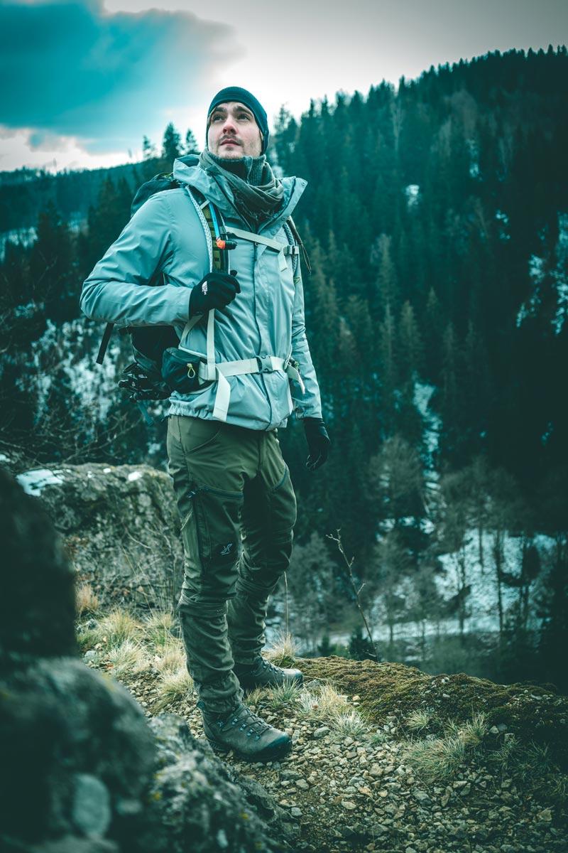 male model outdoor shot