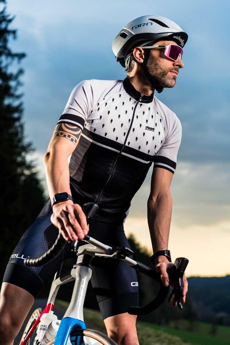 Cycling Action Shot